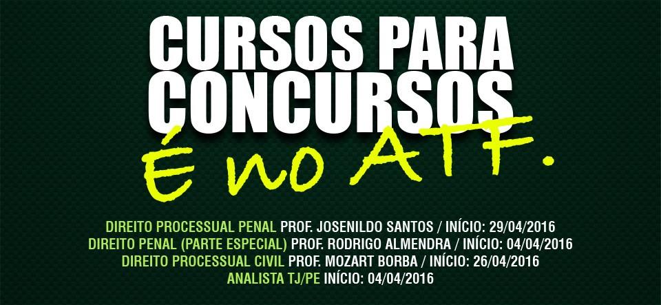 TODOS OS CURSOS DE ABRIL