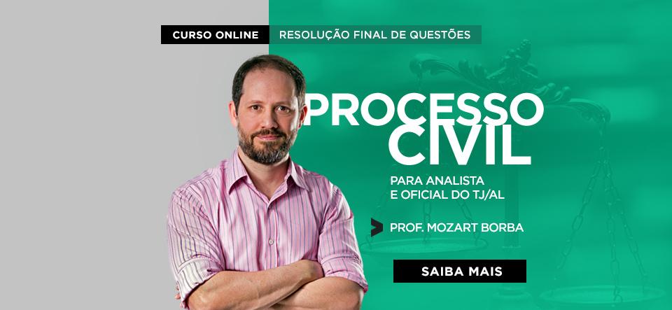 Resolução final de Questões de Processo Civil