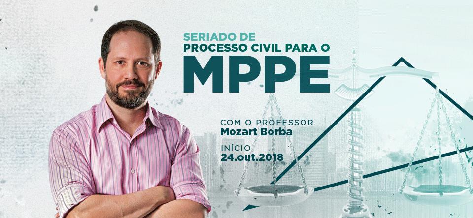 Seriado de Processo Civil Para O MP-PE
