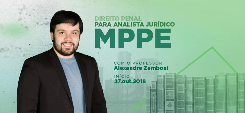 SERIADO DE DIREITO PENAL PARA ANALISTA JURÍDICO DO MPPE
