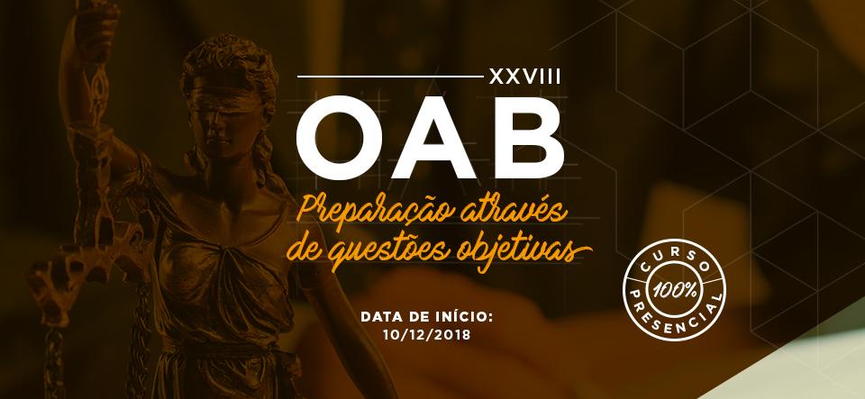 OAB 1ª FASE VVXIII