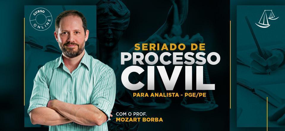seriado processo civil
