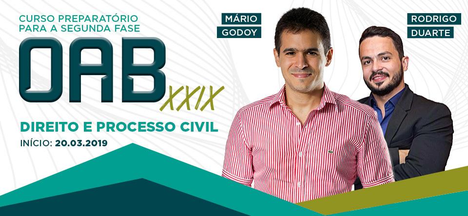 2 FASE OAB XVIII DIREITO E PROCESSO CIVIL