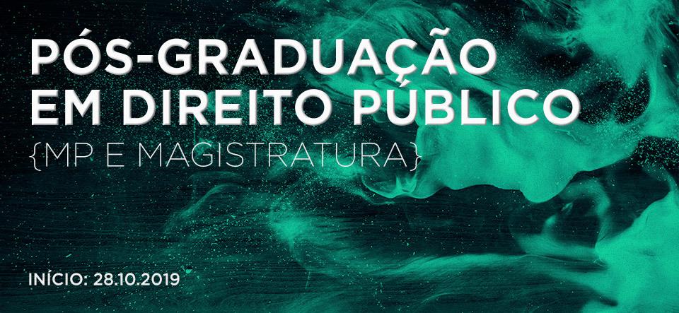 Pós Graduação em Direito Público