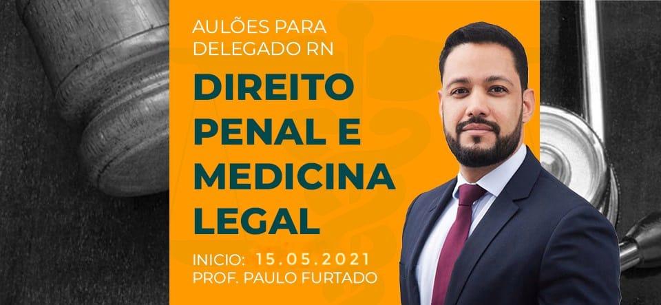 aulão medicina legal e penal
