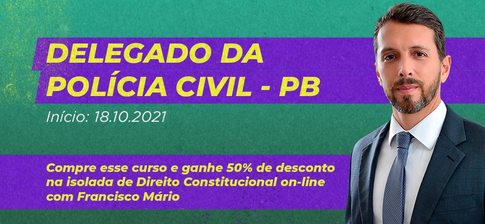 Delegado Civil - PB PROMOÇÃO